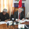 Canada gives more support to GECOM for LGE with CND$20,000 donation