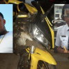 Two die in Saturday night motorcycle crash on Houston road