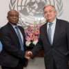 UN Secrteary General meets with Guyana's Foreign Minister