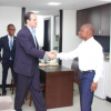 Foreign Minister briefs US Govt. official on Venezuela's recent incursion in Guyana's waters