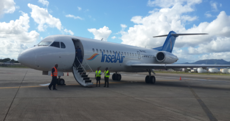 All Insel Air flights cancelled after planes grounded by Curacao Civil Aviation   News Source Guyana