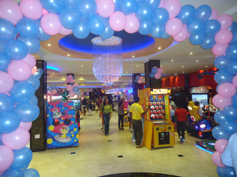 Princess opens Kid's City, Movie theatres