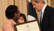 U.S honours Guyanese Simona Broomes as TiP Hero