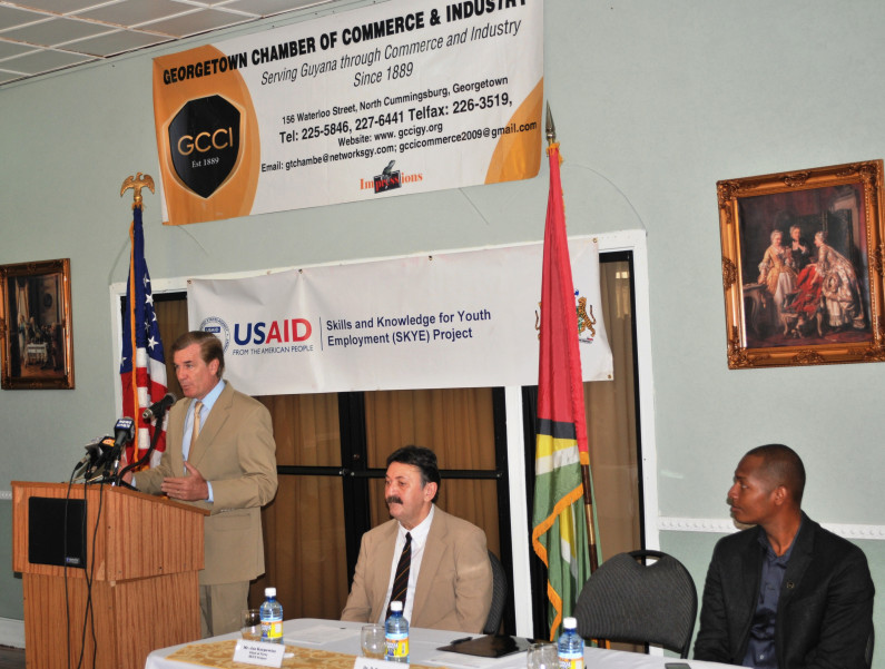 GCCI and US Aid launch Youth Job Bank