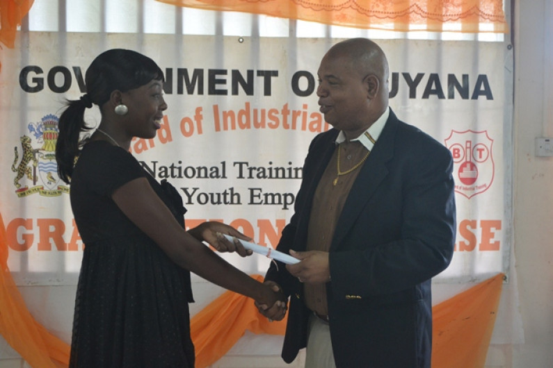 Over 100 Linden youths graduate in industrial training programme