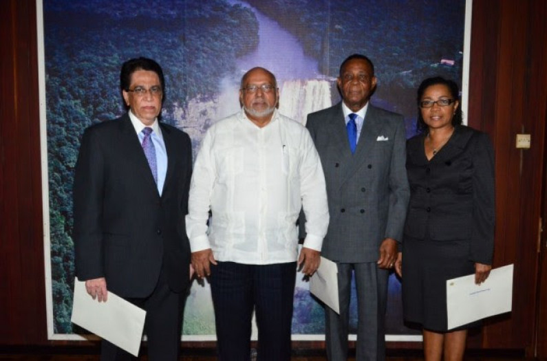 Walter Rodney Commission of Inquiry sworn in