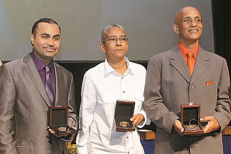 Karen DeSouza picks up prestigious Caribbean Award.