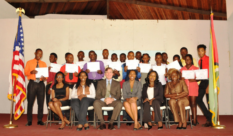 USAID empowers more Guyanese youths