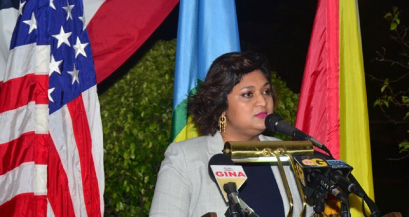Priya booed during blistering attack on US Amb. at 4th July event