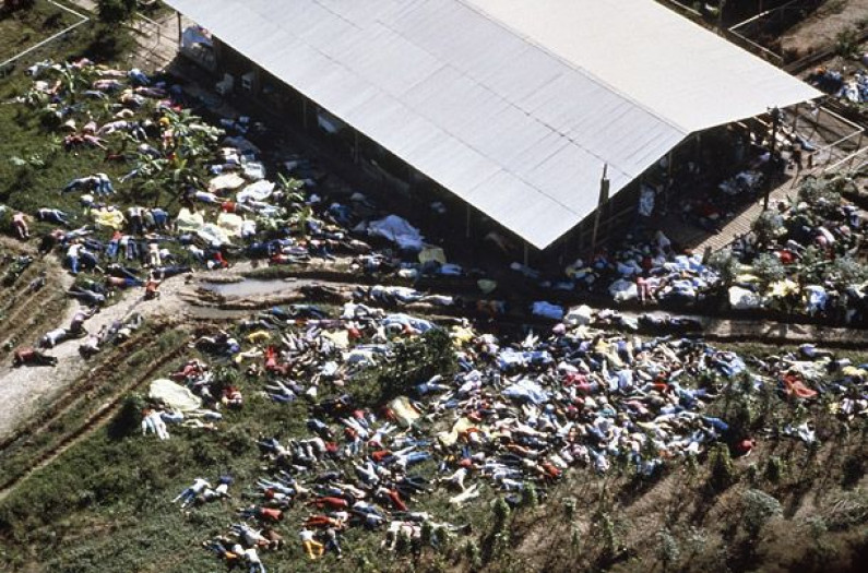 Unclaimed remains of Jonestown victims found in Delaware Church