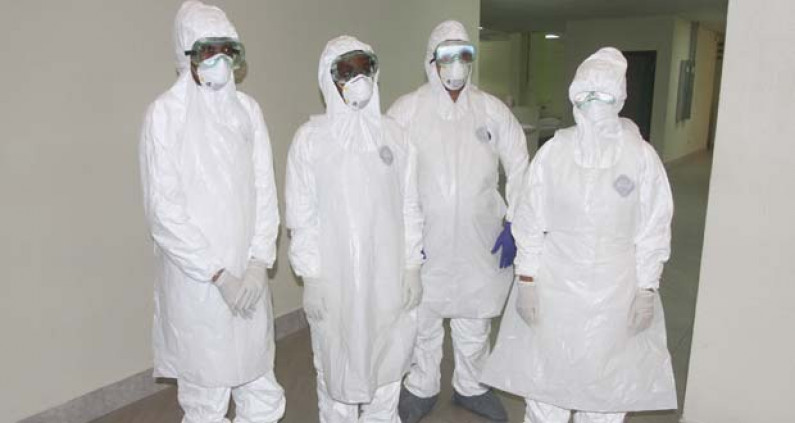 Woman released from G/town Hospital after showing no signs of Ebola