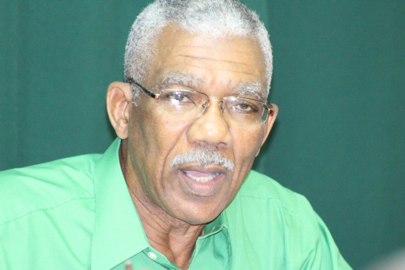 Granger welcomes Elections date; Calls on PPP to conduct clean campaign