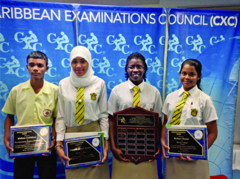 Guyanese Top Students Win Regional Cxc Awards