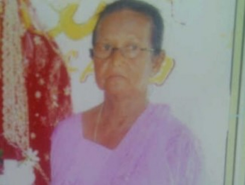 74-year-old woman found raped and beaten to death