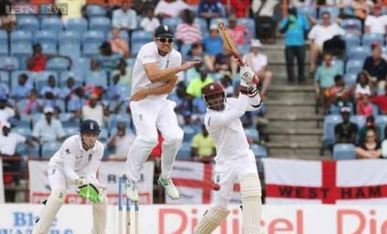 West Indies stage fight back effort against England