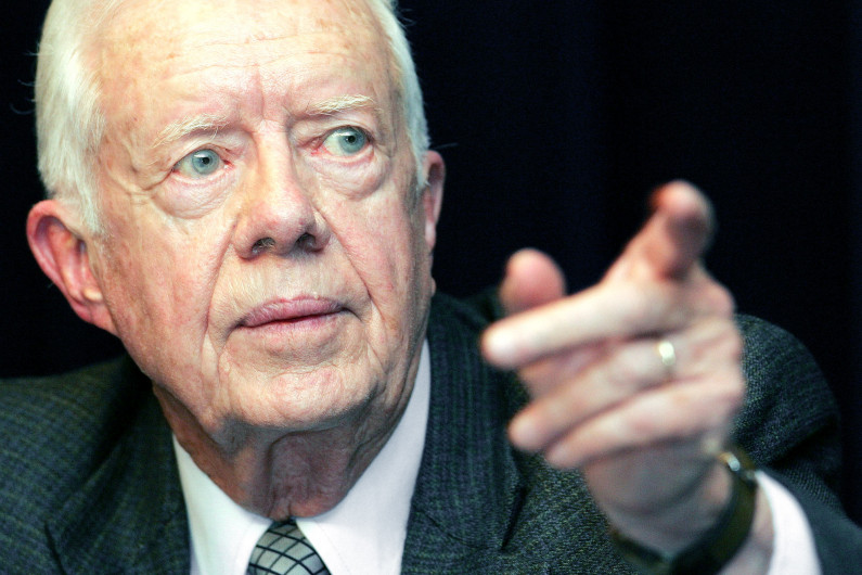Jimmy Carter expected to visit Guyana before elections
