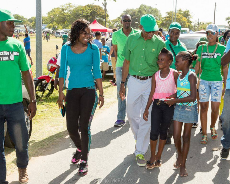 Lisa Punch throws support behind APNU+AFC