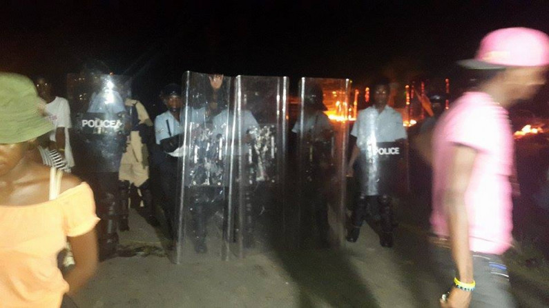 Parties call for calm following Sophia unrest