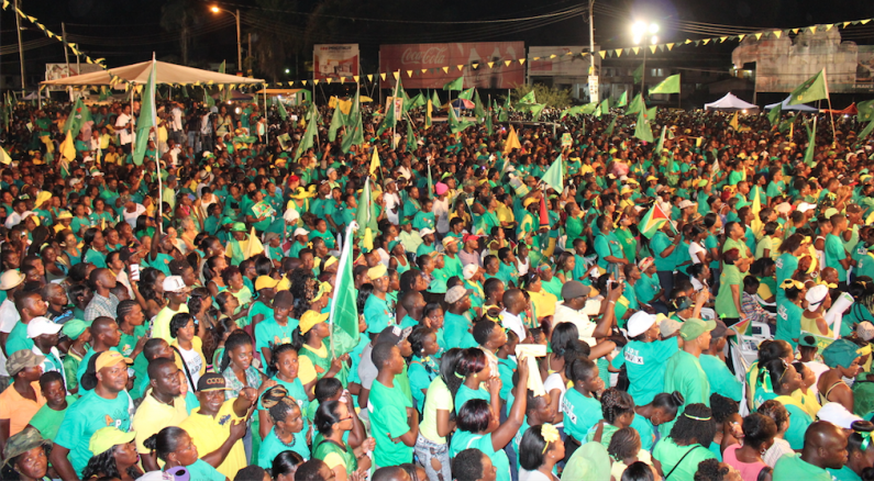 Granger and Nagamootoo make final push for victory and national unity government