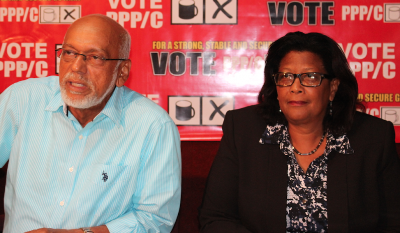 Ramotar and Harper express confidence and hope as official elections results trickle in