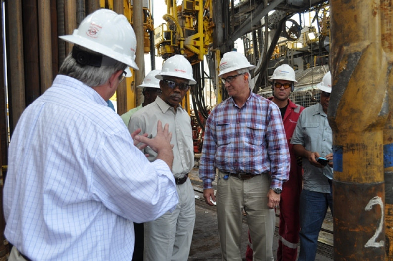 Pres. Granger meets with ExxonMobil executives following Oil Find in Guyana waters