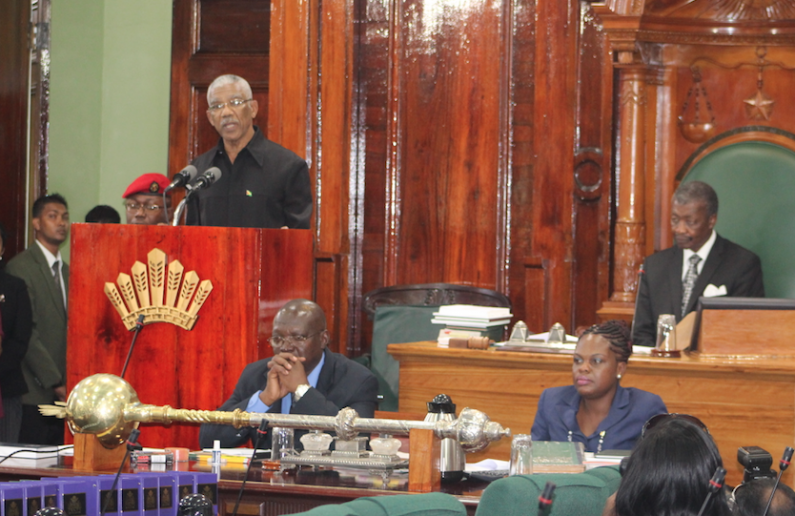 "President opens 11th Parliament and declares ""We are the National Assembly not a political party rally"""