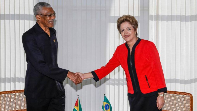 President Granger tells South American leaders they have a duty to be vigilant against Venezuela's threats to Guyana
