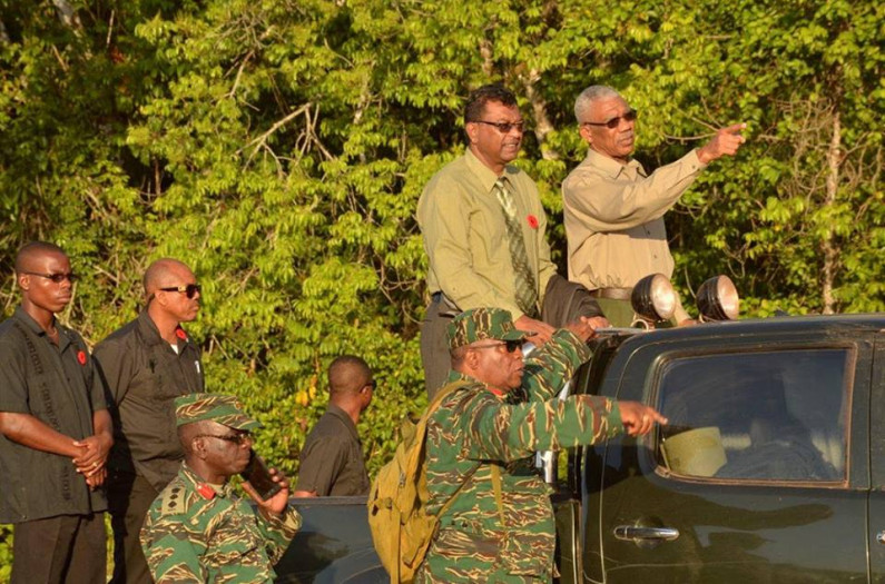 President declares Guyana will not give up anything in border row