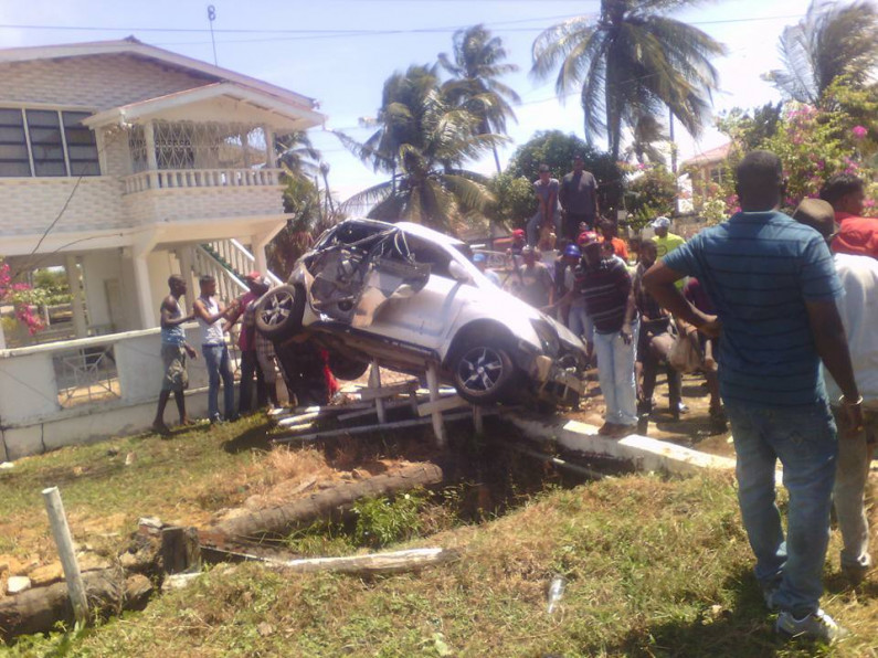 Two persons die in Corentyne accident