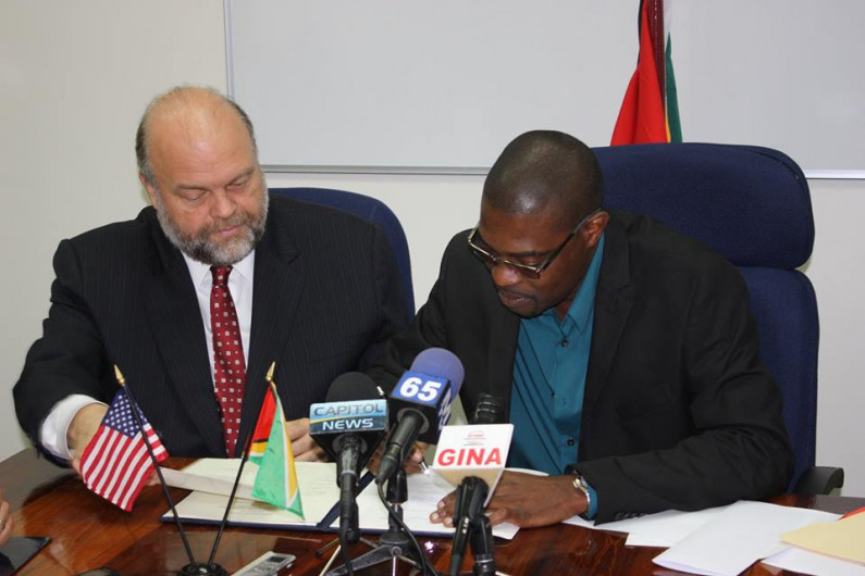 US and Guyana sign agreement to strengthen airport security