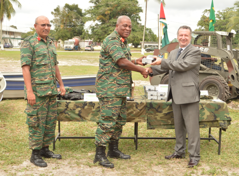 Brazil hands over $26 Million in equipment to GDF