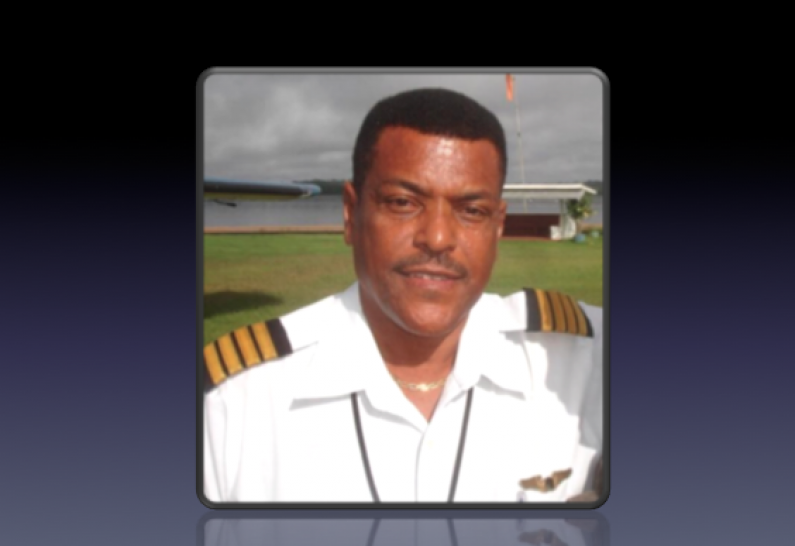 Leading medivac pilot, Captain Alvin Clarke passes on