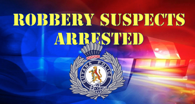 Four suspected bandits arrested in Berbice following botched robbery