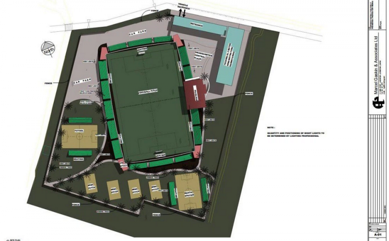 GFF, FIFA ready to move ahead with Goal Project … Conceptual Design approved