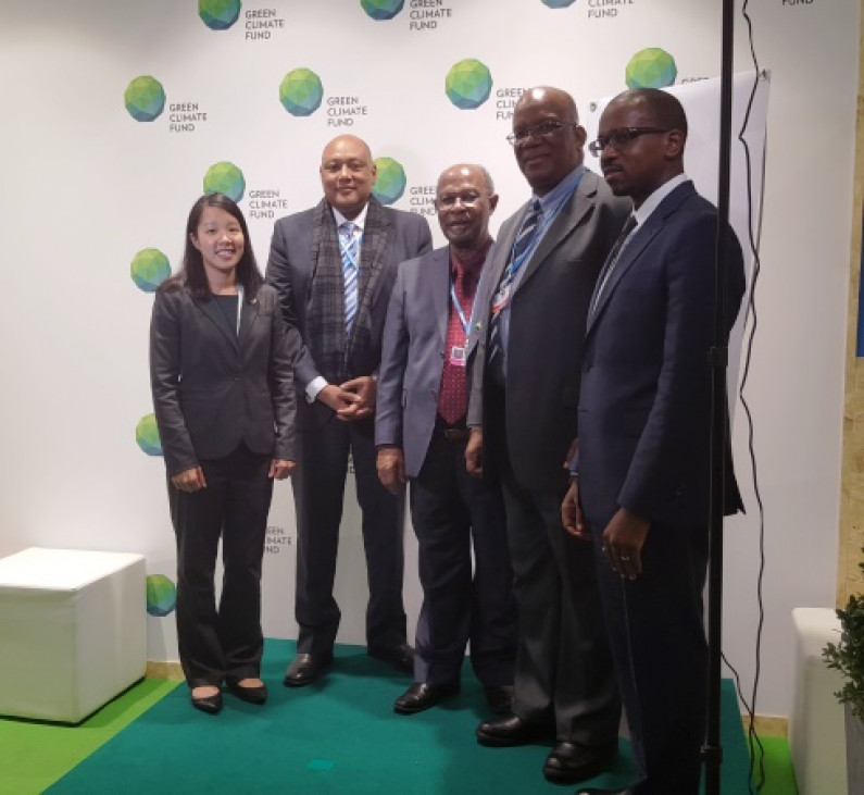 Guyana receives US$300,000 to support climate change efforts