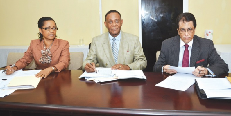 Walter Rodney Commissioners leave COI report with AG's Secretary