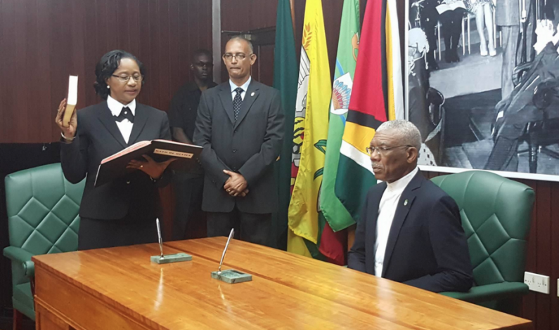 Chief Justice sworn in as Member of Judicial Service Commission