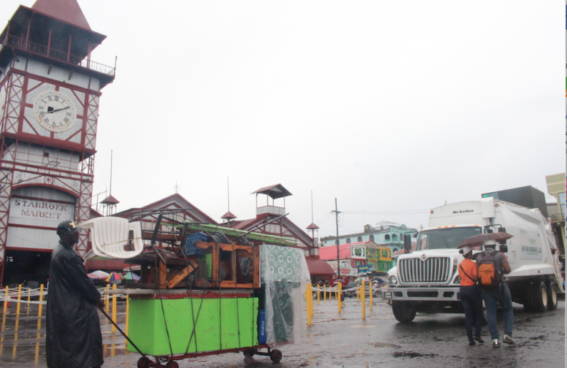 Vendors move out as City Council moves in to clean up Stabroek Square