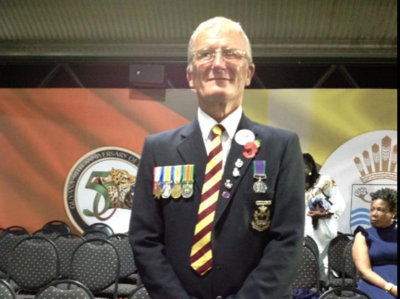 Retired British Soldier who returned to Guyana for Jubilee celebrations robbed at Stabroek Market