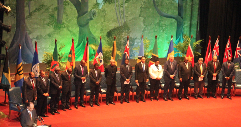 CARICOM Meeting opens with standing tribute to Patrick Manning