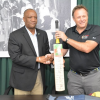CPL donates bats, balls to promote cricket in Guyana