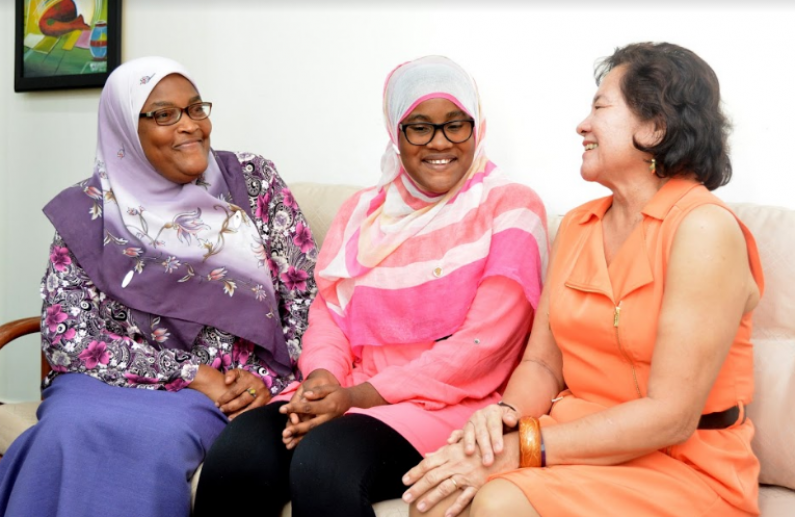 First Lady encourages Top CSEC Student to also focus on enjoying life