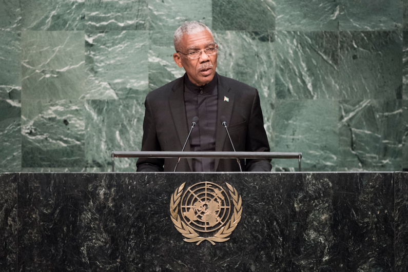 "President Granger assails Venezuela's ""territorial ambitions"" in UN General Assembly address"