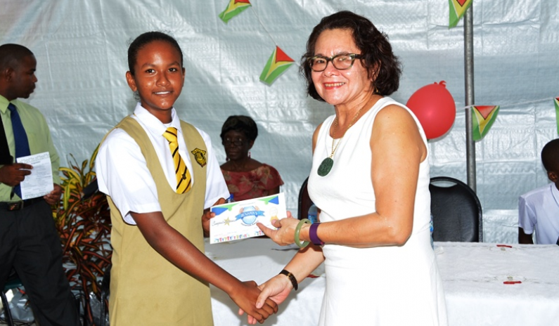 First Lady urges East Coast NGSA top performers to never forget where they're from