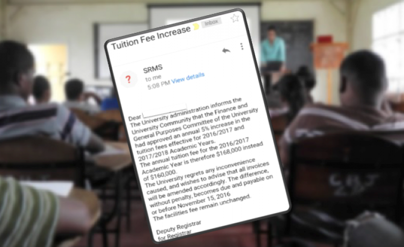 UG students furious after learning of 5% tuition hike via email from University's administration