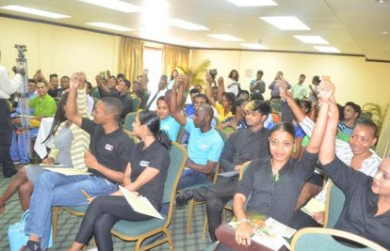 Waiters and Waitresses trained by Tourism Authority in Customer Care