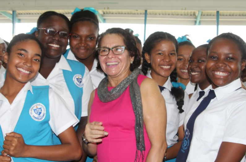 First Lady joins Luminous Women's Group in new school's outreach programme