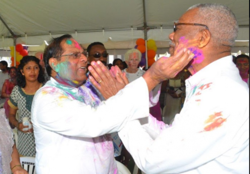 Phagwah has strengthened the bond among Hindus and other religious and ethnic groups  -Pres. Granger