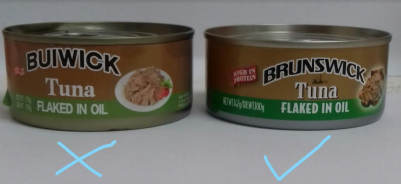 "Importer of ""fake label"" tuna insists his product is not fake and demands its release"