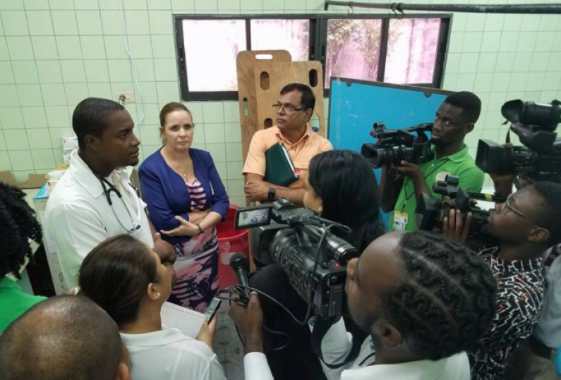 Parliamentary Committee hears of medical and other shortages at Diamond Hospital